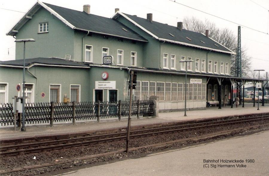 Bahnhof 1980