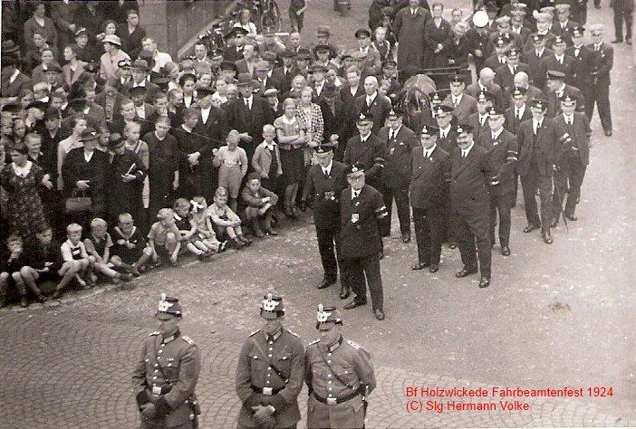 Fahrbeamten Jahresfest 1924