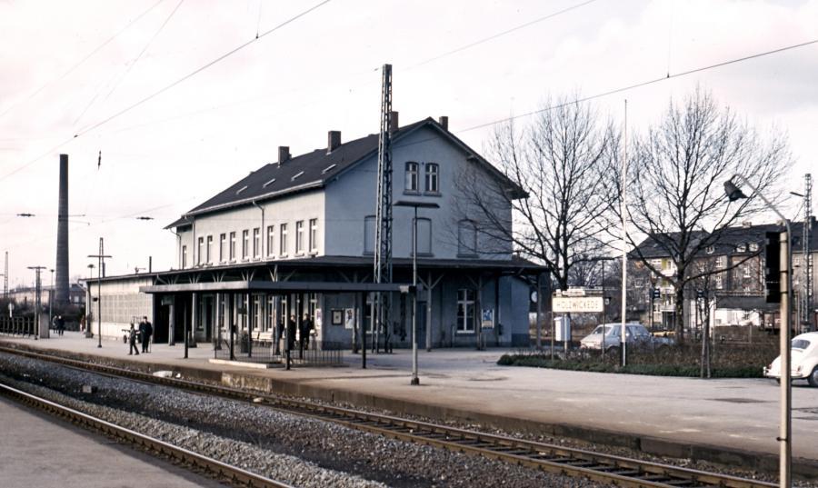 Bahnhof 1971