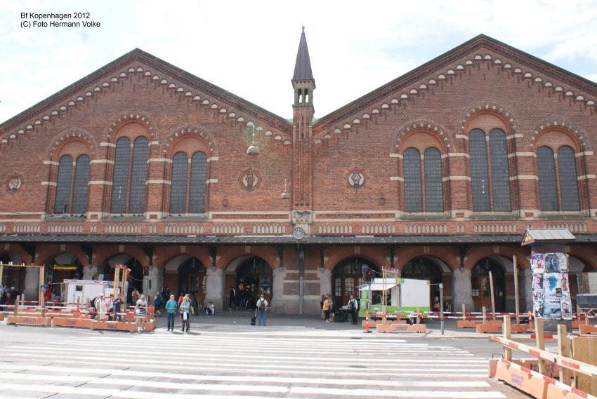 Bahnhof Kopenhagen / Dänemark