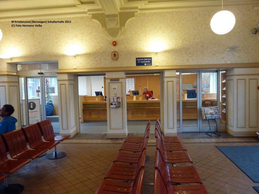 Bahnhof Kristiansand 2012