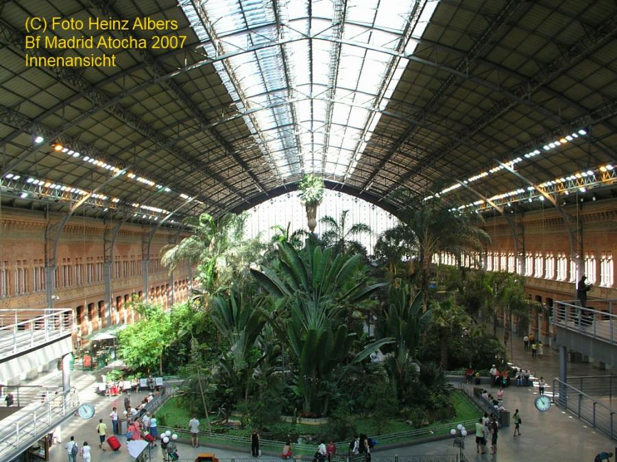 Bahnhof Madrid Atocha - Innen