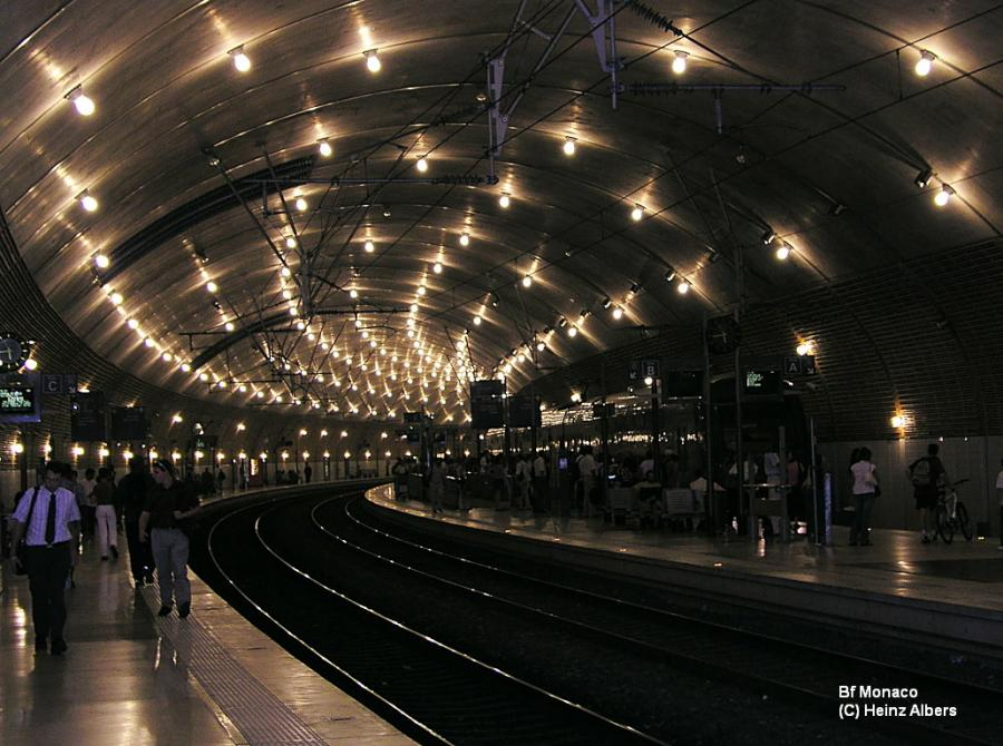 Bahnhof Monaco