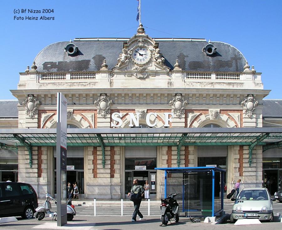 Bahnhof Nizza 2006
