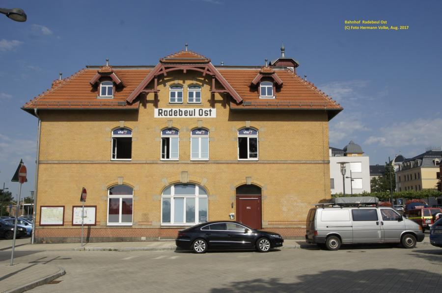 Bahnhof Radebeul Ost