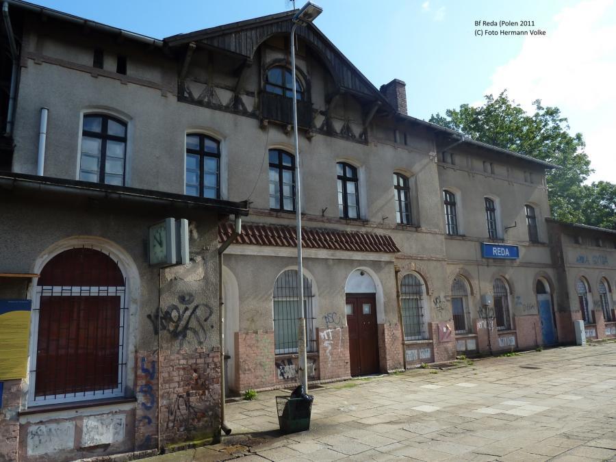 Bahnhof Reda (Polen)