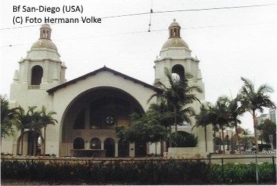 Bahnhof San Diego (USA)