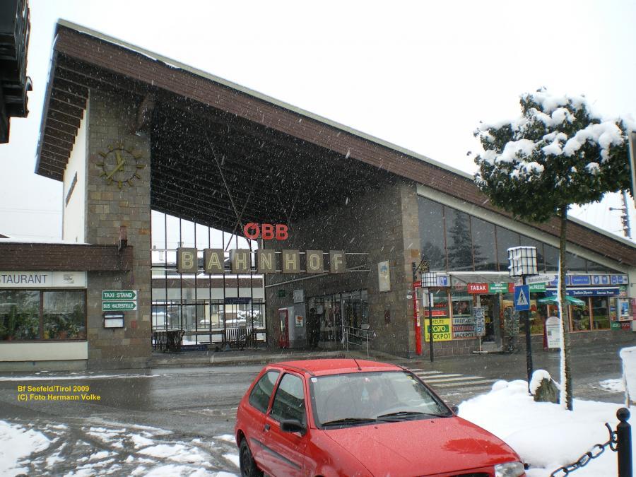 Bahnhof Seefeld (Österreich)