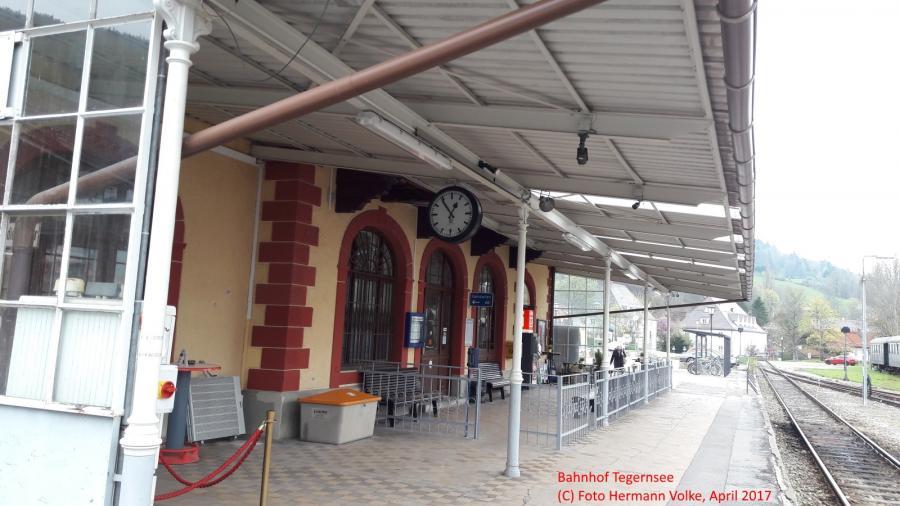 Bahnhof Tegernsee 2017