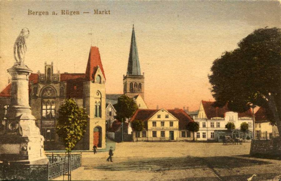 Bergen a. Rügen Markt