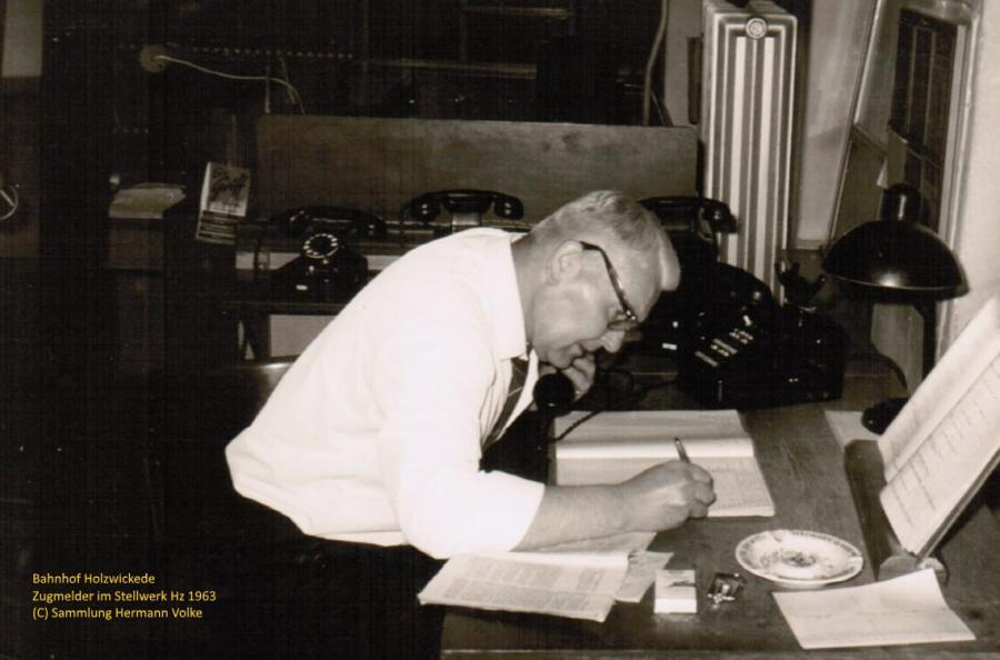 Fahrdienst Leiter August van Zalk 1963