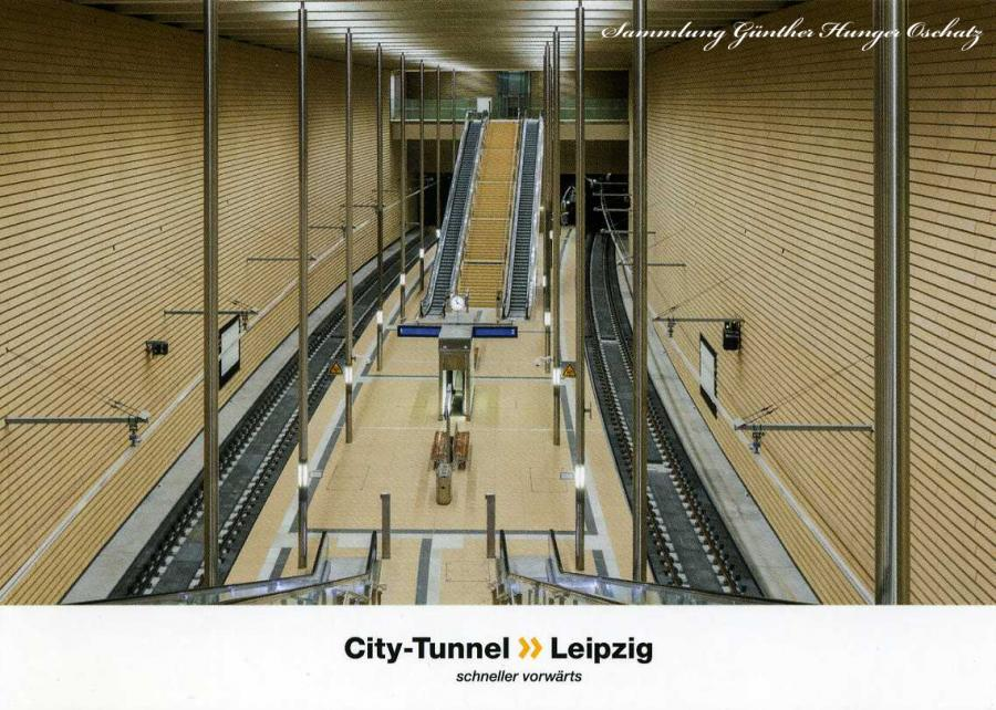 City-Tunnel Leipzig Station Markt