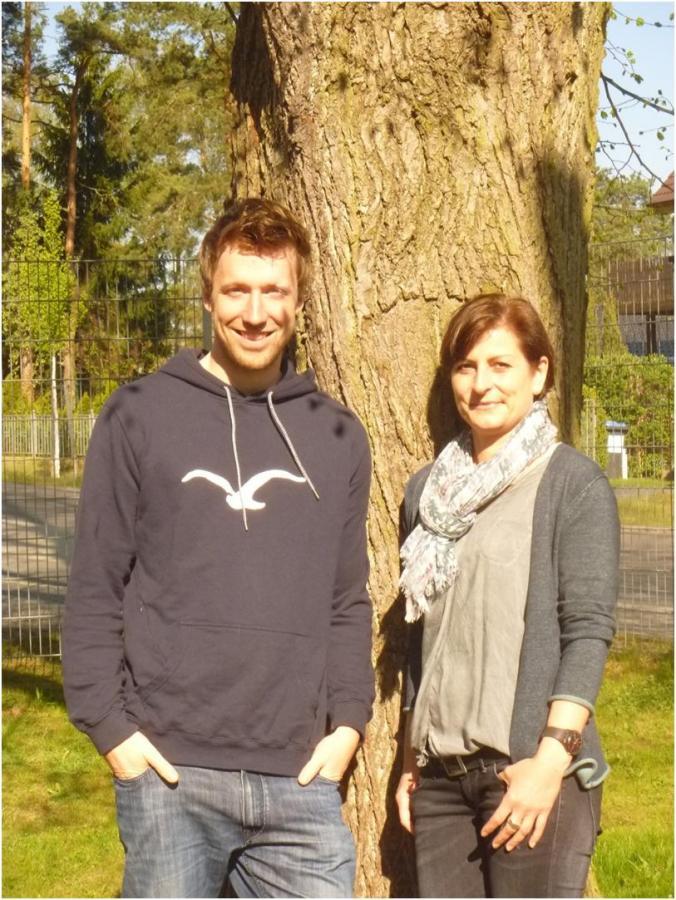 Herr Biemer und Frau Laurich