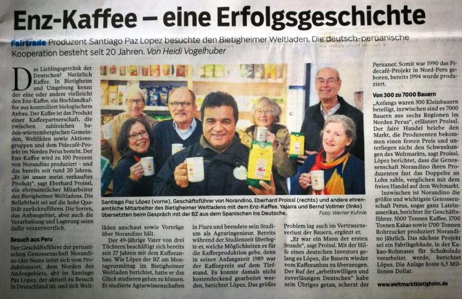 Bietigheimer Zeitung vom 20.02.2018