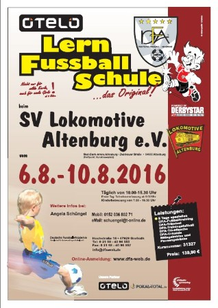 Fussball Schule 2016