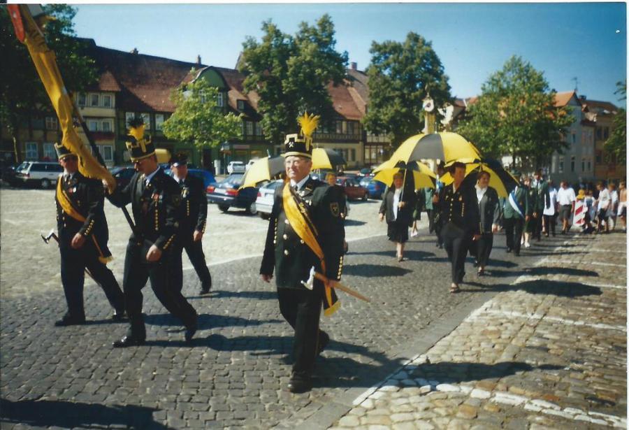 Telnahme am Umzug in Helmstedt