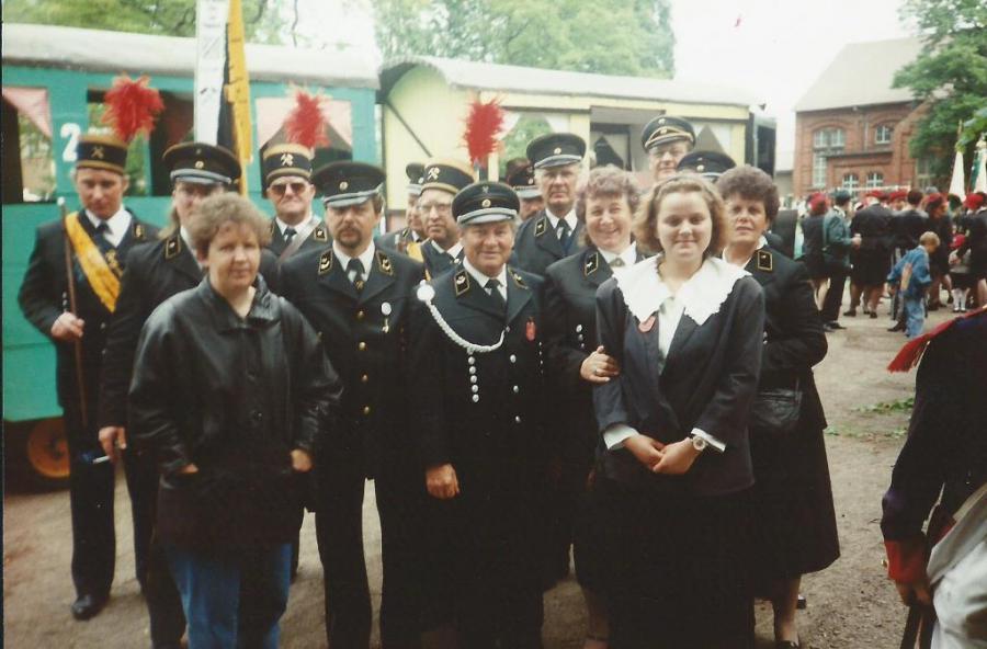 Teilnahme am Umzug in Oschersleben