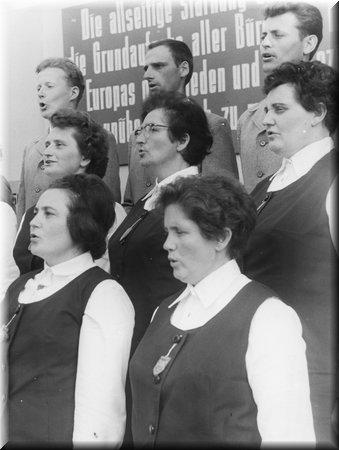 Der gemischte Chor Criewen 1969