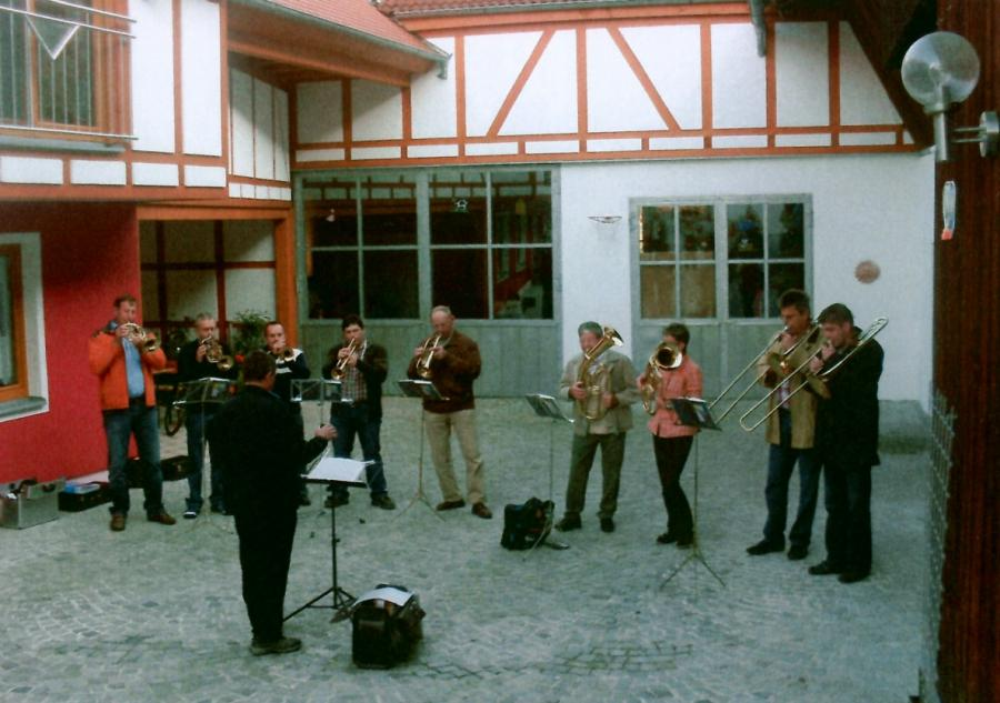 Geburtstagsständchen Lina Klein 2009