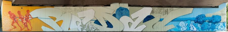 Bild zeigt Graffiti