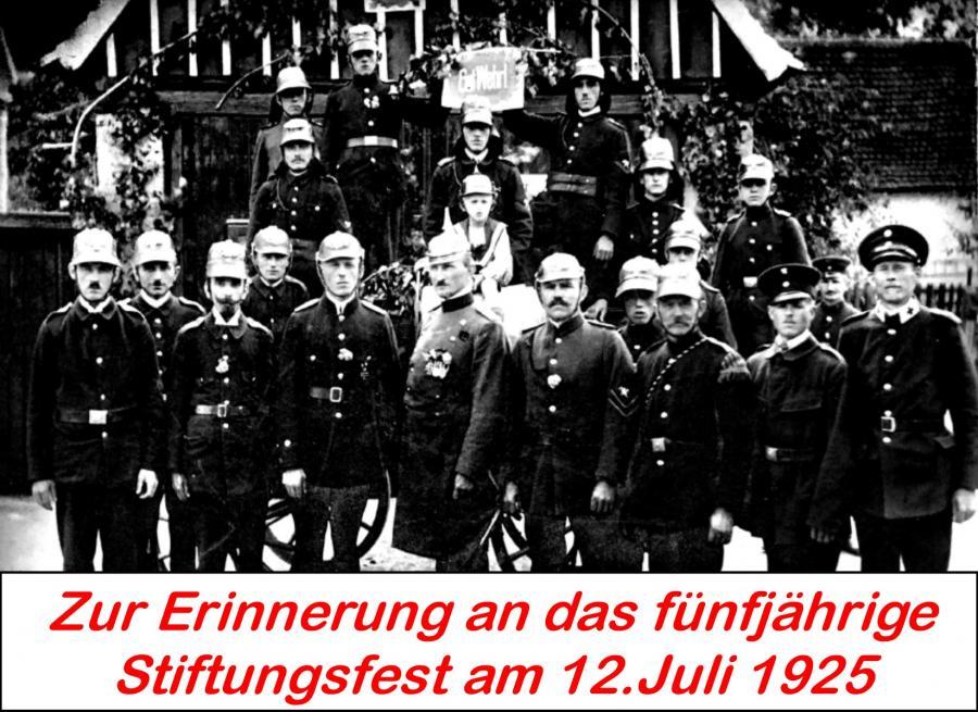 Stiftungsfest 1925