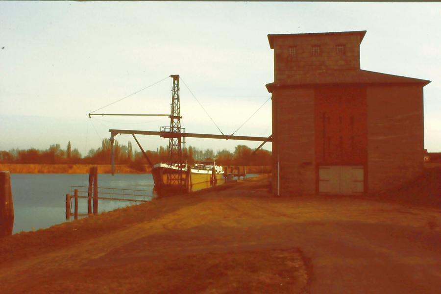 Silo am Stöckter Hafen 1990