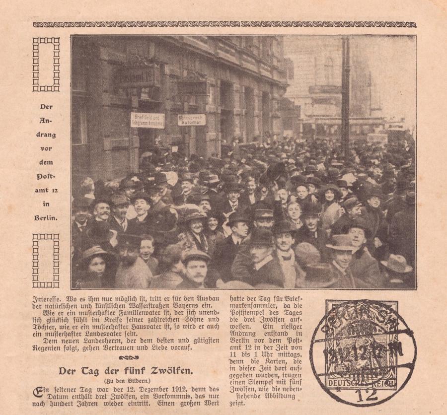 """aus """"Illustrierter Familienfreund"""" von 1913"""
