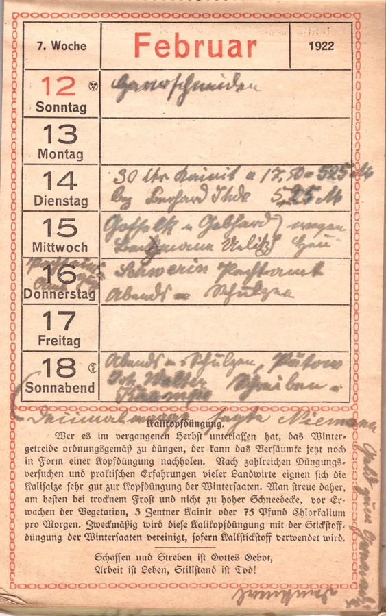 Februar 1922