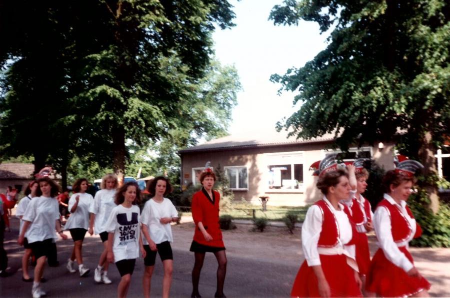 Umzug zur 775 Jahrfeier in Sülstorf 1992