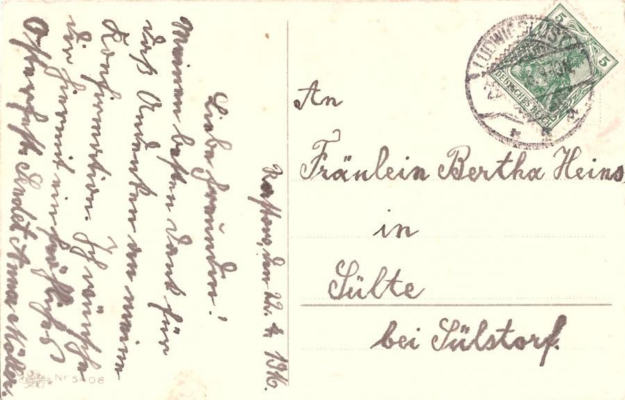 Ostergrüsse 1916