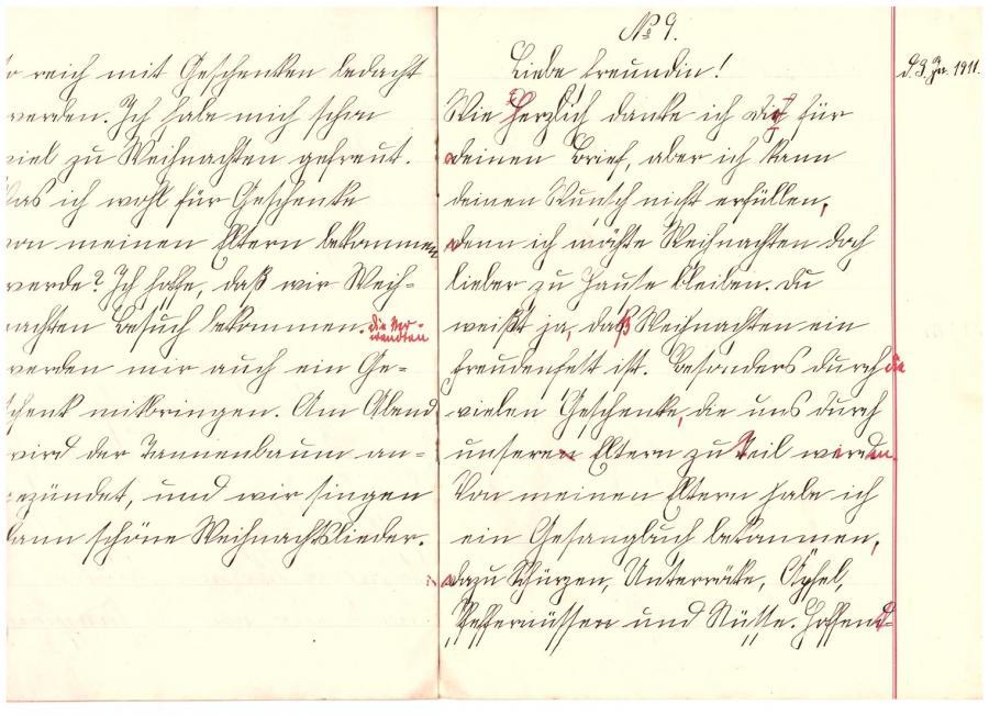 Aufsatz vom 3. Januar 1911
