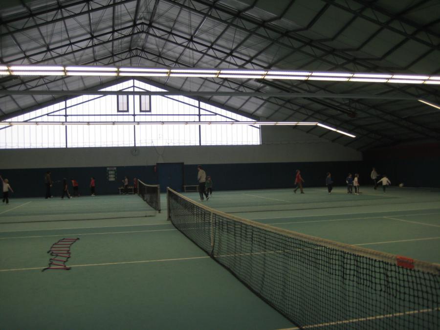 Bild Tennishalle