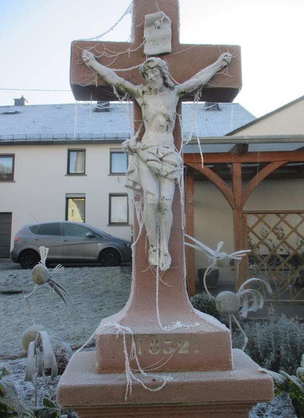 Kreuz im Winter (Bild :Gerd Röder)