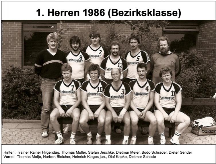 1. Herren 1986