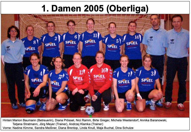 1. Damen 2005