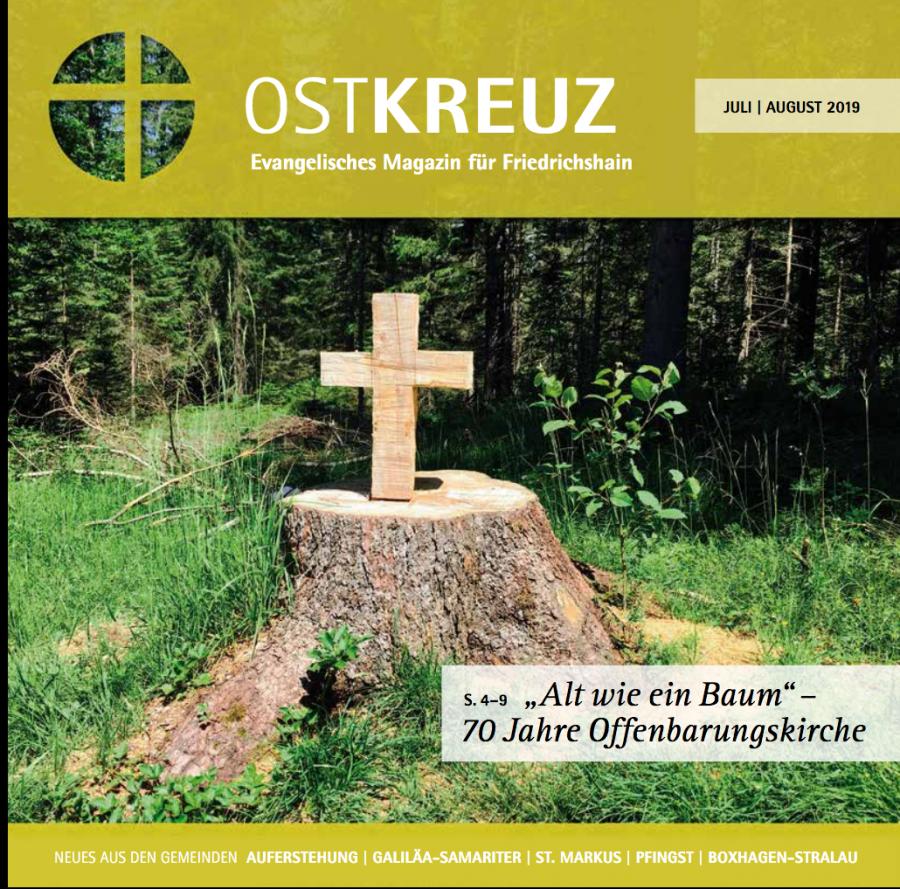 OstKREUZ Seite 1, Ausgabe Juli-August 2019