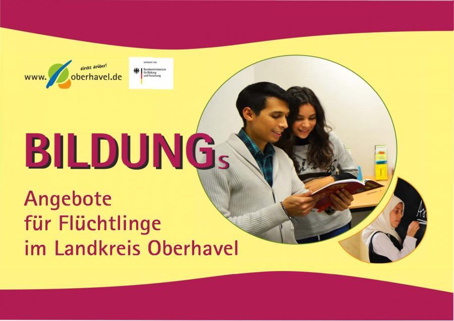 Bildungsangebote für Flüchtlinge im Landkreis OHV