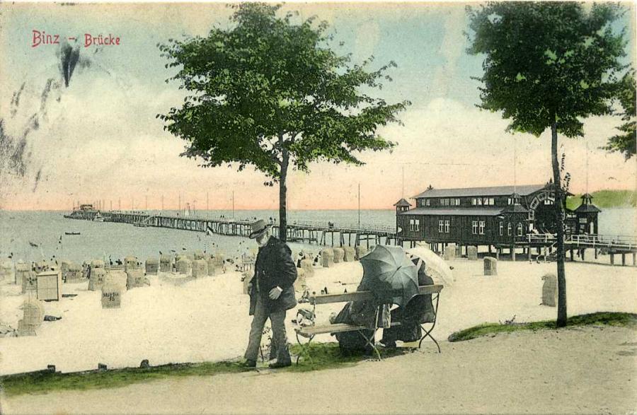 Binz-Brücke 1909