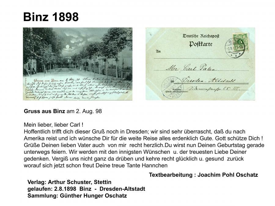 Binz 1898