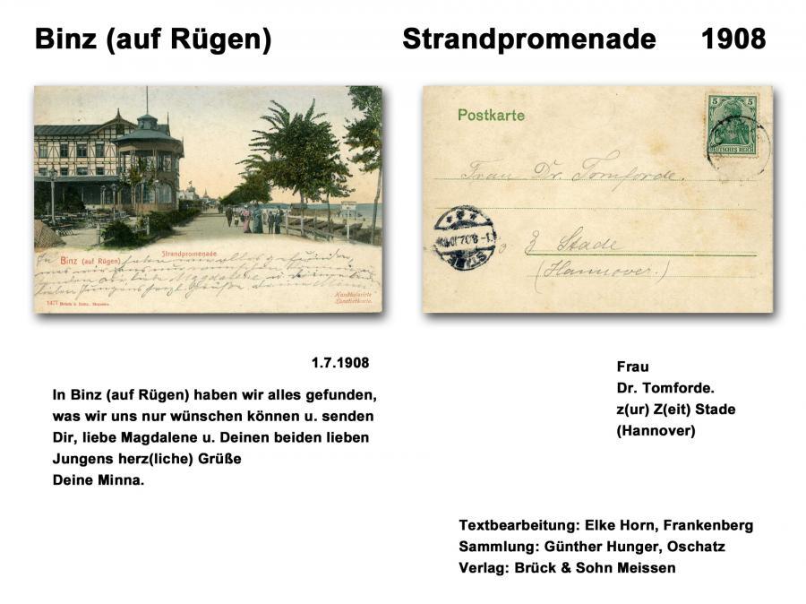 Binz 1908