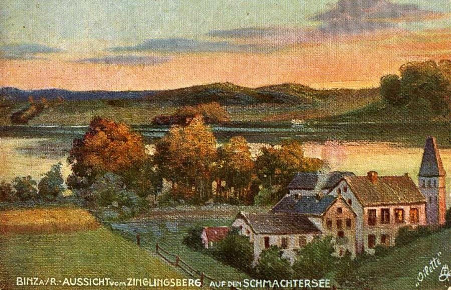 Binz a. R. Aussicht vom Zinglingsberg