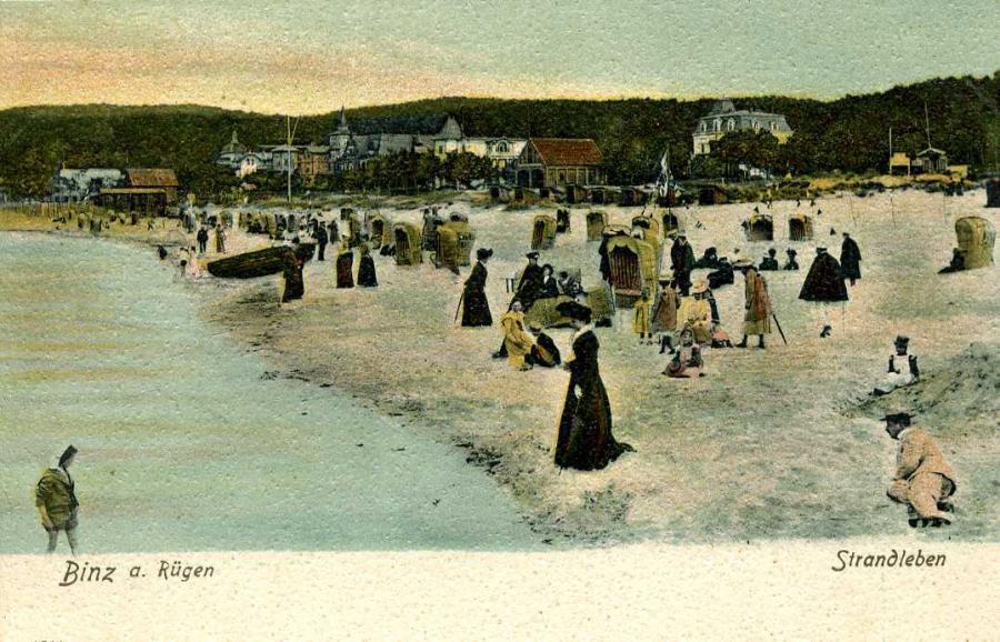 Binz a. Rügen Strandleben