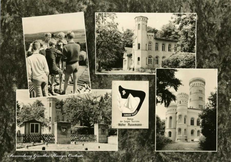 Binz Station der jungen Touristen