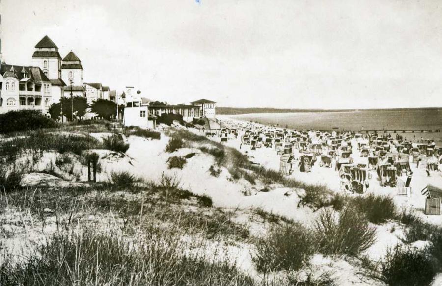 Binz Strand 1959