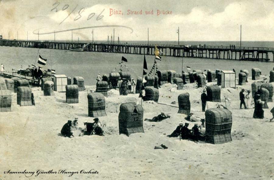 Binz Strand und Brücke