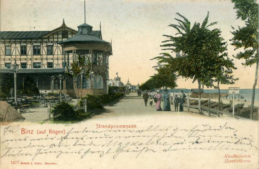 Binz Strandpromenade