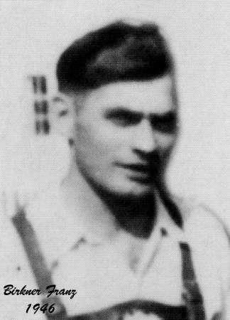 Birkner Franz