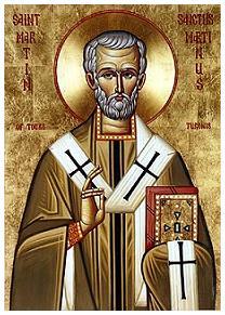 Bischof Martin von Tours