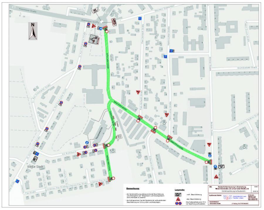 Julius-Leber-Straße & Melanchthonstraße VRAO