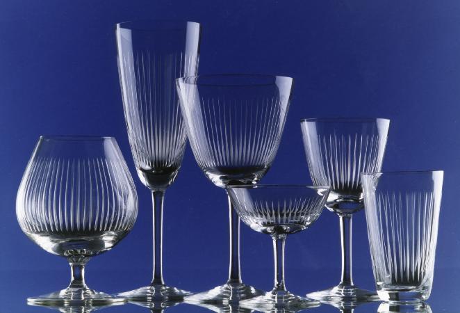 Foto: Gläser aus der Produktion der Glashütte in Immenhausen